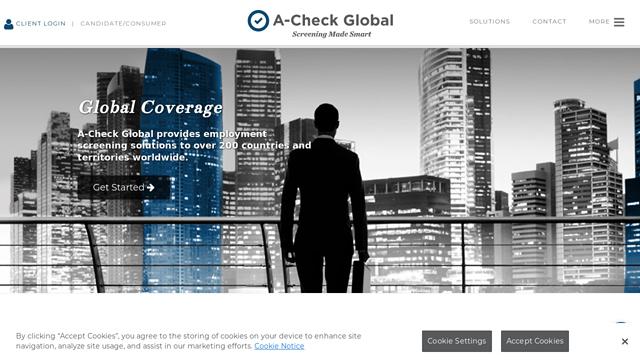 A-Check-Global API koppeling