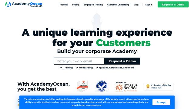 AcademyOcean API koppeling