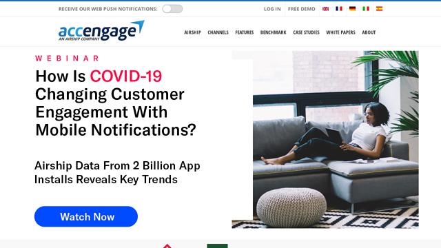 Accengage API koppeling