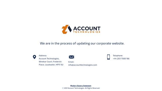 Account-Technologies API koppeling