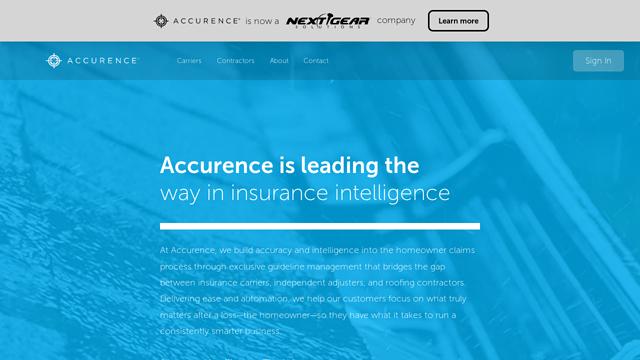 Accurence API koppeling