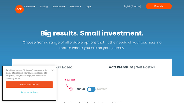 Act!-Essentials API koppeling