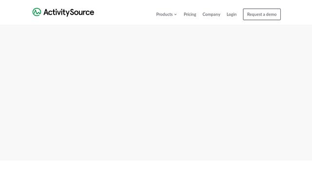 ActivitySource API koppeling
