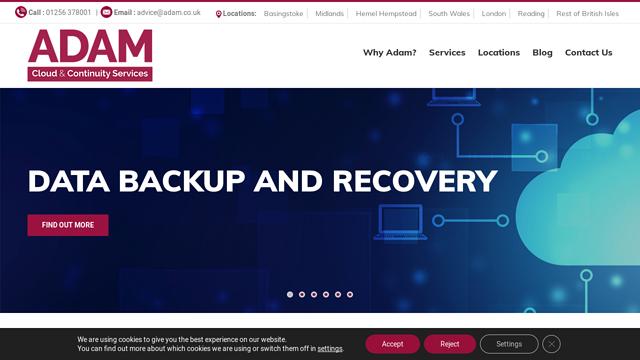 Adam-Continuity API koppeling