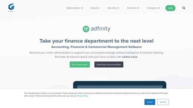 Adfinity API koppeling