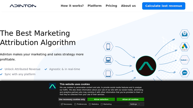 Adinton API koppeling