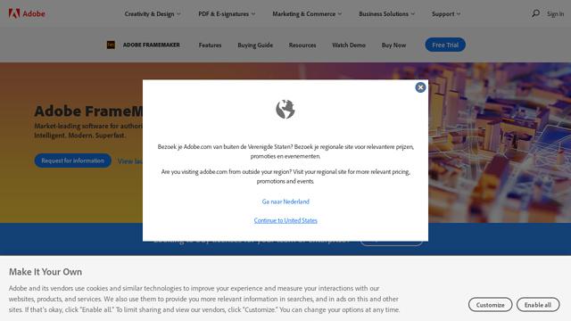 Adobe-FrameMaker API koppeling