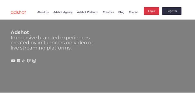 Adshot.io API koppeling