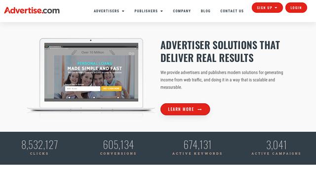 Advertise.com API koppeling