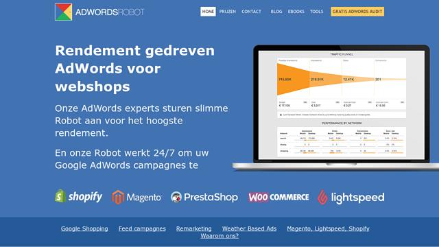 AdWords-Robot API koppeling