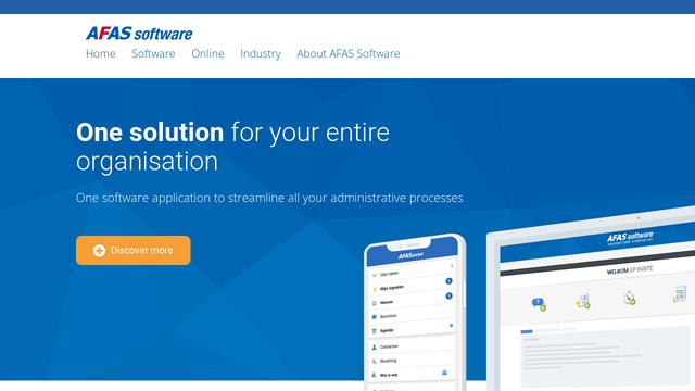 AFAS-Software API koppeling