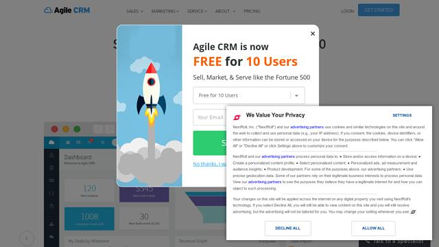 Agile-CRM API koppeling
