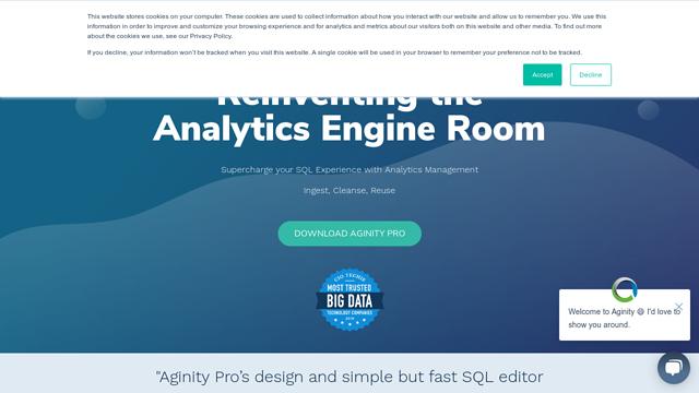 Aginity API koppeling