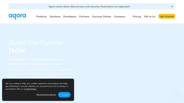 Agora API koppeling