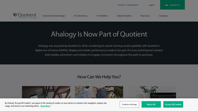 Ahalogy API koppeling