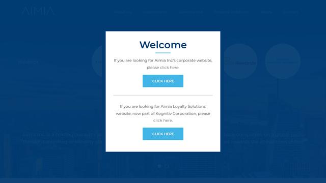 Aimia API koppeling
