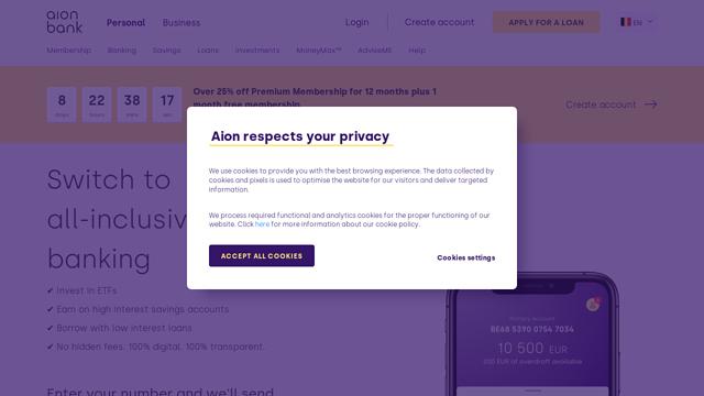 Aion API koppeling