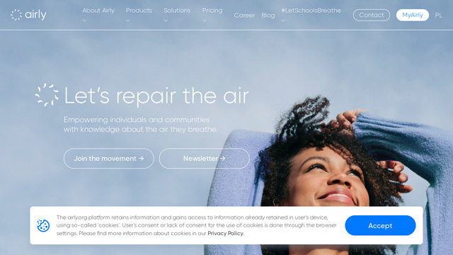 Airly API koppeling