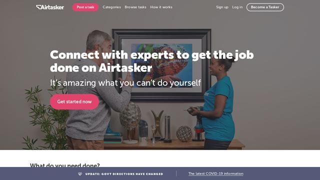 Airtasker API koppeling