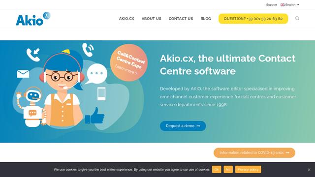 Akio API koppeling
