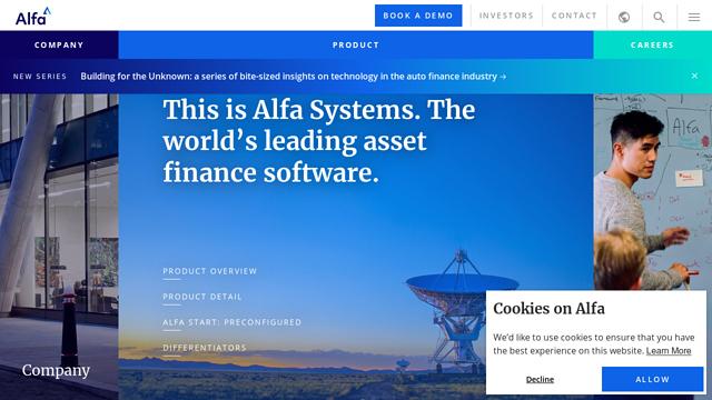 Alfa API koppeling