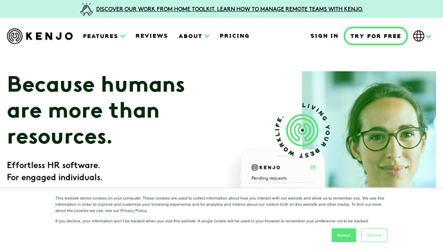 All-in-one-human-resources-software- -Kenjo API koppeling