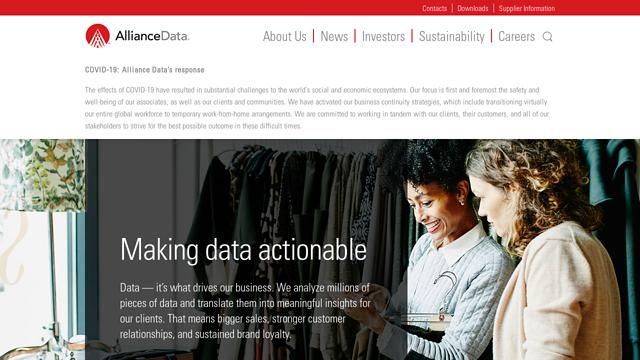 Alliance-Data API koppeling