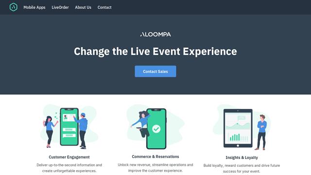 Aloompa API koppeling