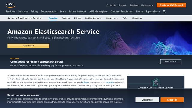 Amazon-Elasticsearch API koppeling