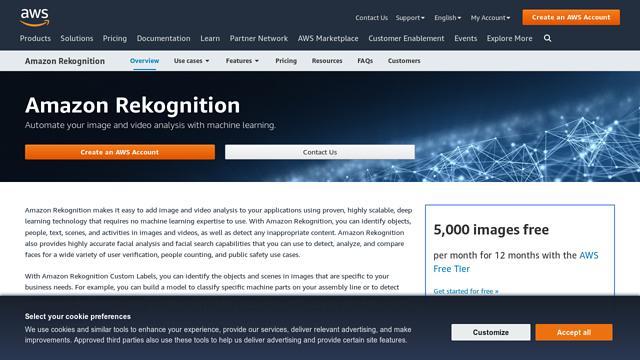 Amazon-Rekognition API koppeling