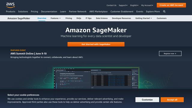 Amazon-Sagemaker API koppeling