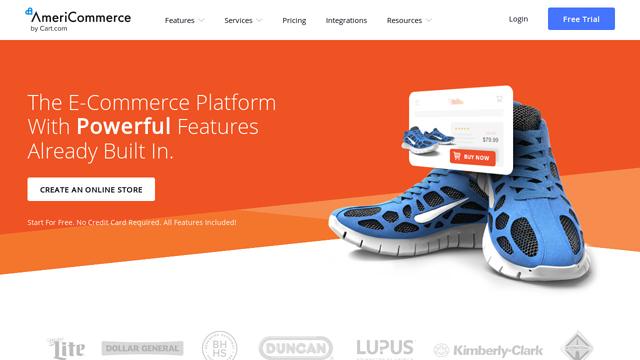 AmeriCommerce API koppeling