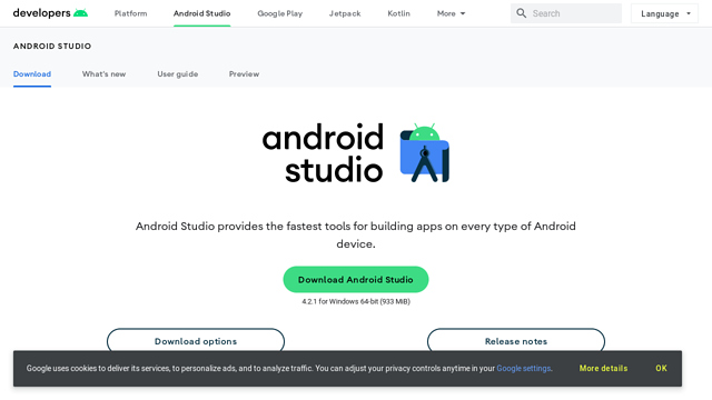Android-Studio API koppeling
