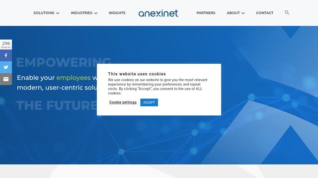 Anexinet API koppeling