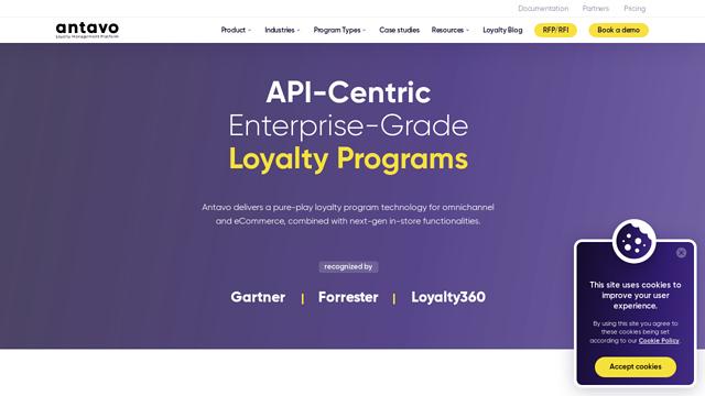 Antavo API koppeling