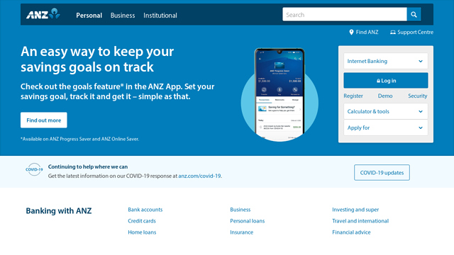 ANZ API koppeling