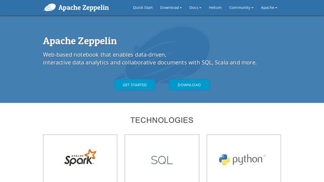 Apache-Zeppelin API koppeling