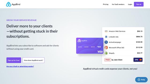 AppBind API koppeling