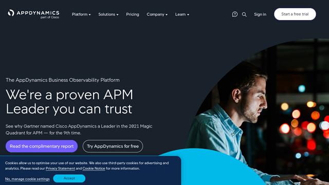 AppDynamics API koppeling