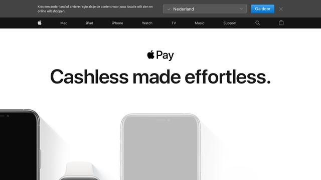 Apple-Pay API koppeling