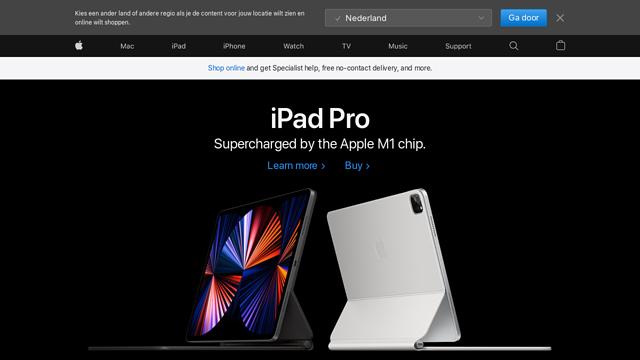 Apple API koppeling