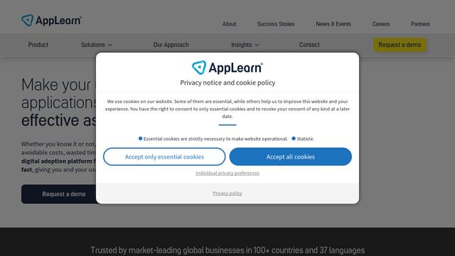 AppLearn® API koppeling