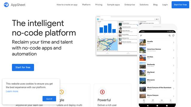 AppSheet API koppeling
