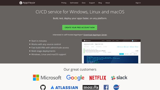 AppVeyor-CI API koppeling