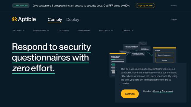 Aptible API koppeling