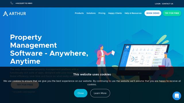 Arthur-Online API koppeling