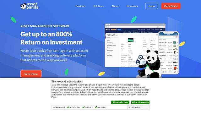Asset-Panda API koppeling