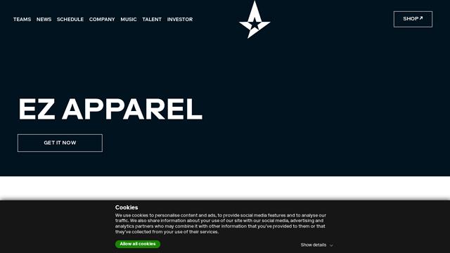 Astralis API koppeling