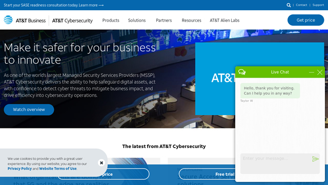 AT&T API koppeling