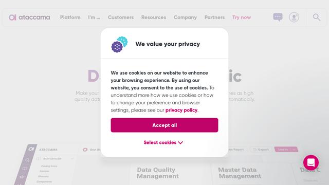 Ataccama API koppeling